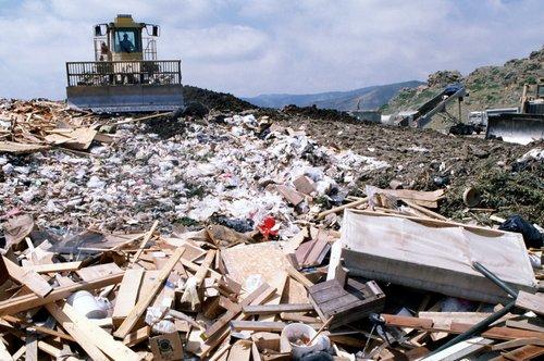 Landfill site.