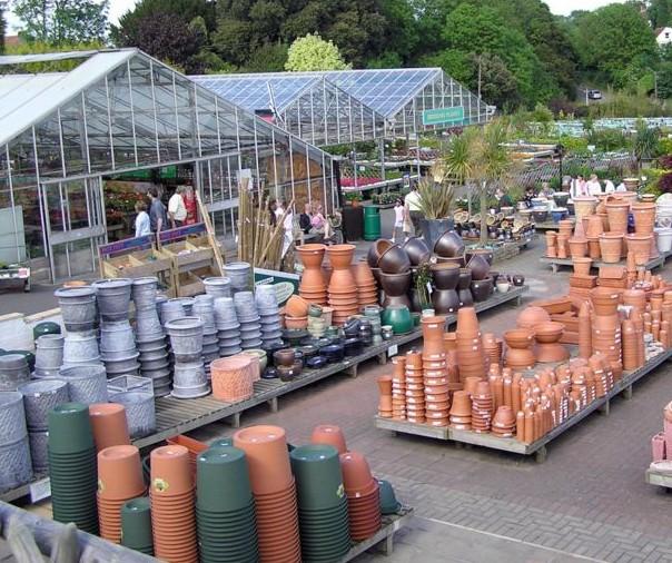 Garden centre.