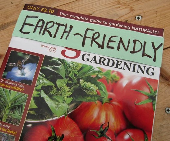 Could Organic Gardening become Earth-friendly Gardening?
