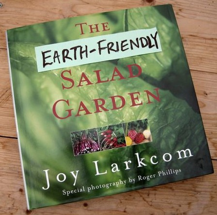 'The Organic Salad' by Joy Larkcom could be retitled to better reflect its content.