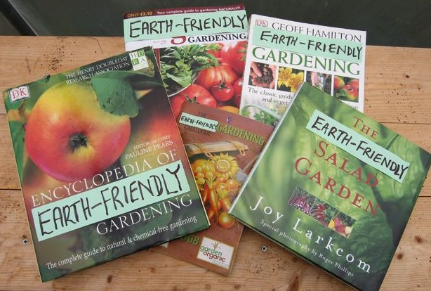 Changing the title of a book or catalogue would give a clearer idea of what 'organic gardening' is about.
