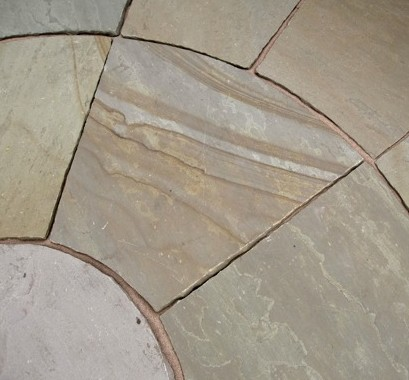 Indian sandstone on display at the 2008 RHS Tatton Park Flower Show,