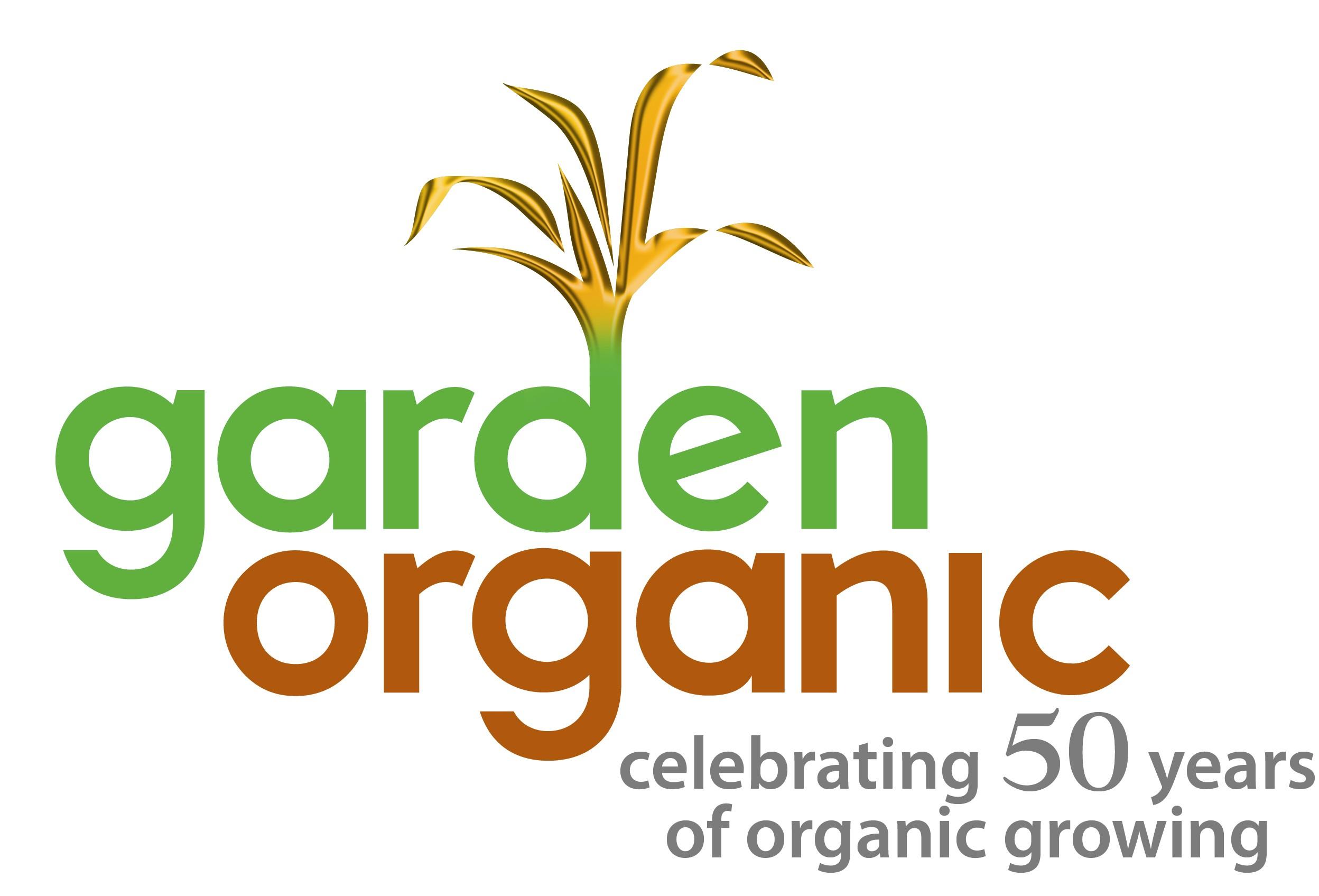 Garden Organic logo.
