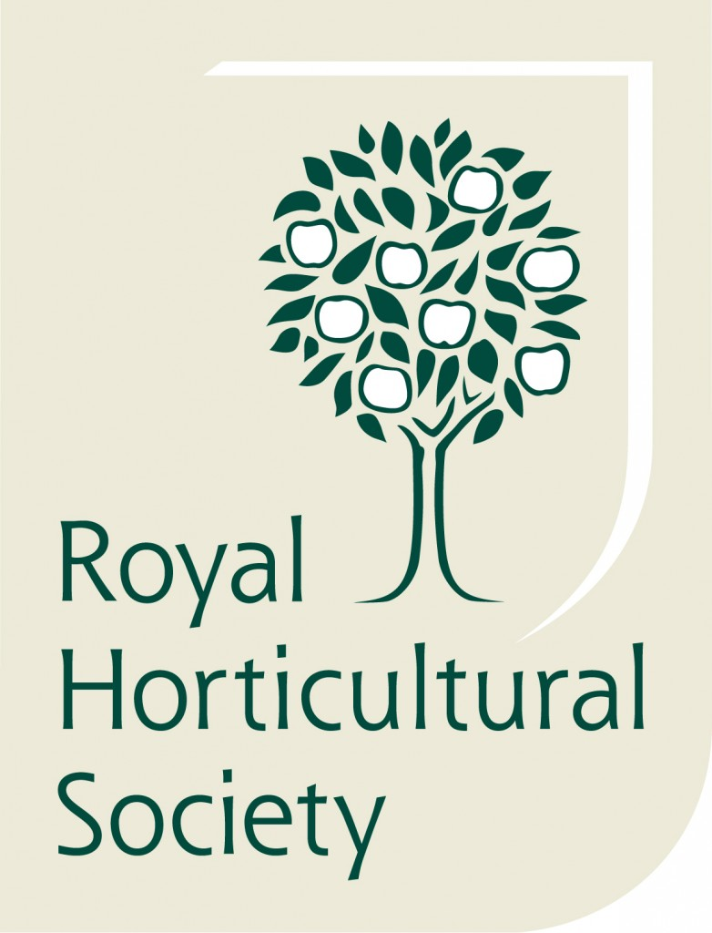 Royal Horticultural Society logo.