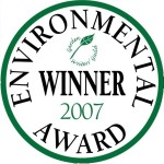 Garden Media Guild Environmental Award 2007 winners' seal.