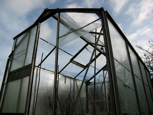 A preloved greenhouse falling into disrepair can quickly and easily have its growing potential restored.